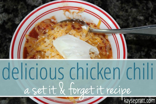 Chicken Chili - KaysePratt.com