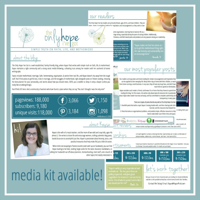 Media Kit - KaysePratt.com