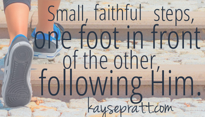 Faithful in the Small