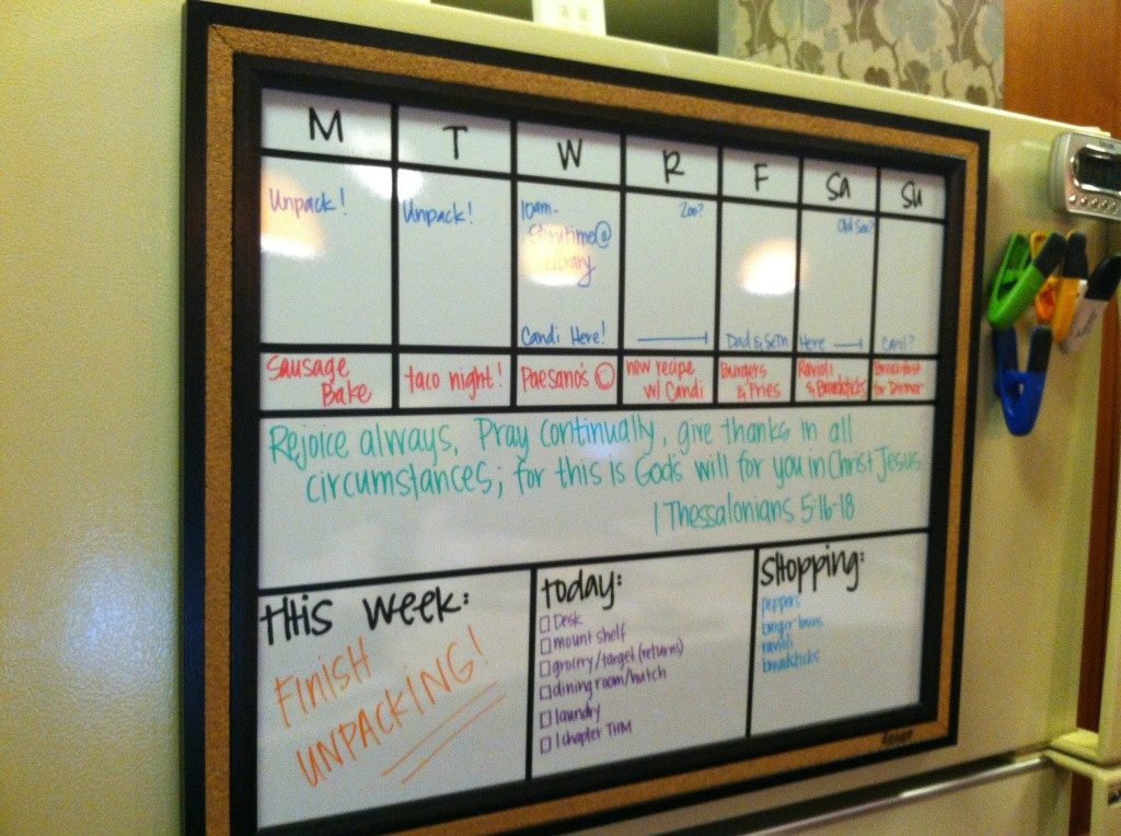 Diy Week Organizer Or The Project That Kept Me Up Till