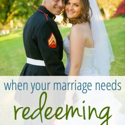 When Your Marriage Needs Redeeming (How Far He's Brought Us)