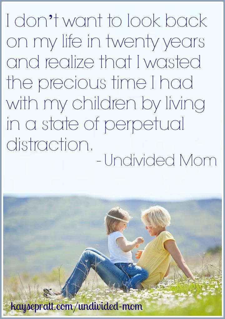 undividedmomdistraction