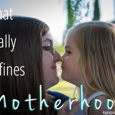 What Really Defines Motherhood