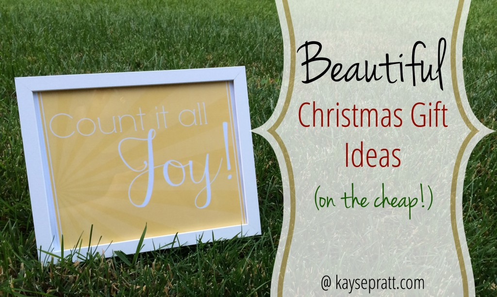 Beautiful Christmas Ideas (on the cheap!) - KaysePratt.com