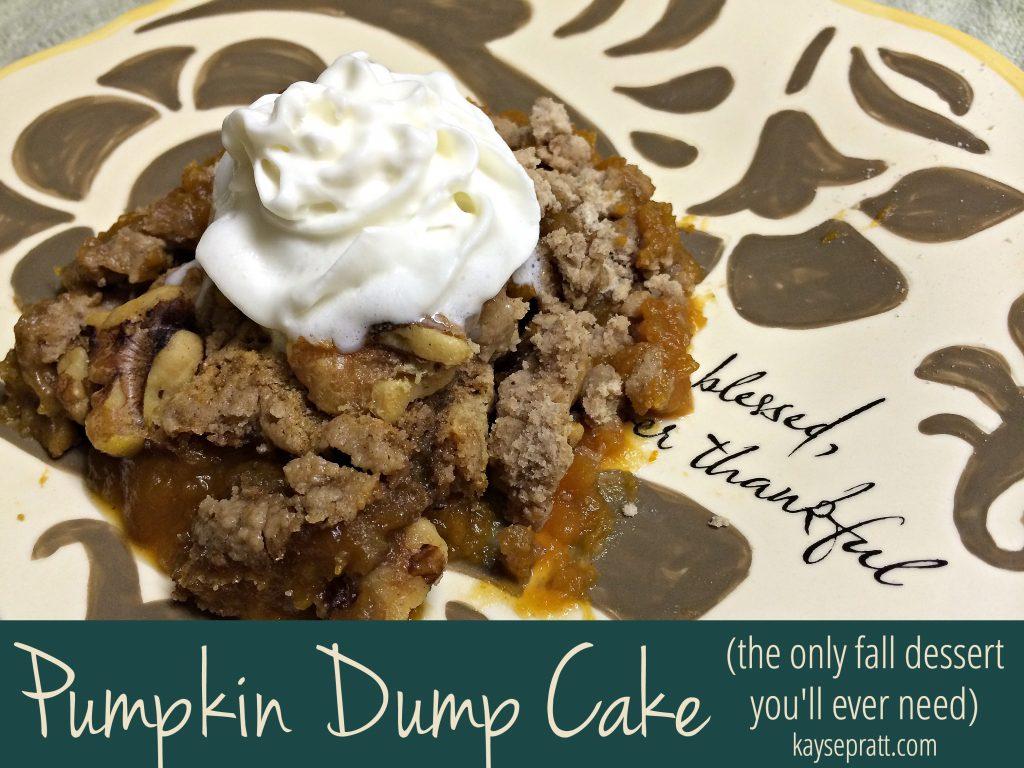 Pumpkin Dump Cake - KaysePratt.com