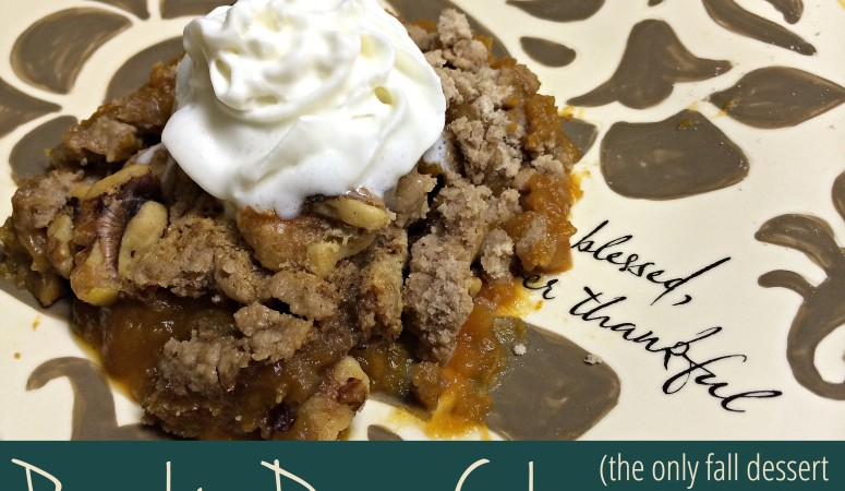 Pumpkin Dump Cake (The only fall dessert you'll ever need)