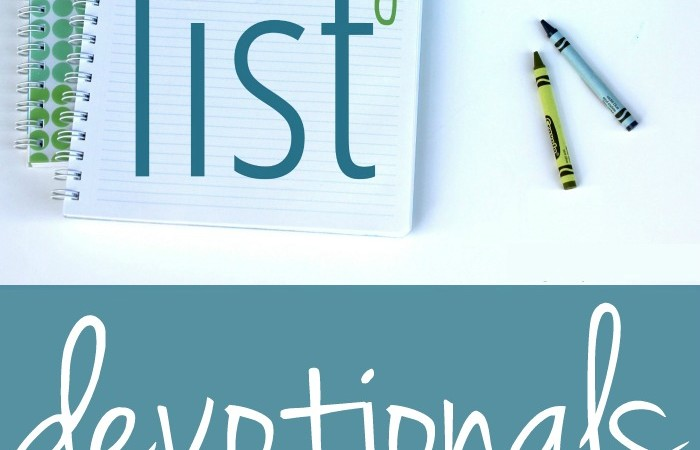 My Favorite Devotionals For Moms | The Mommy List, Week 2