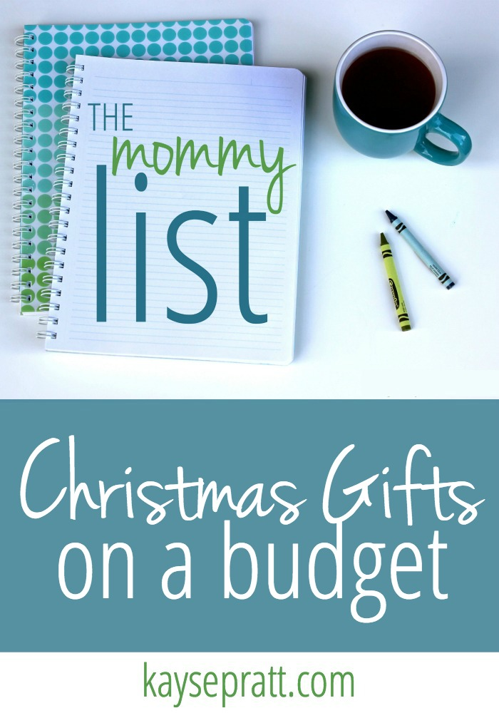 Christmas gifts on a budget - kaysepratt.com