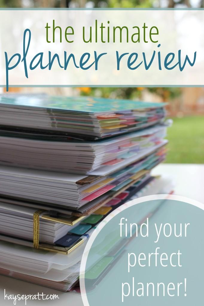 The Ultimate Planner Review - KaysePratt.com