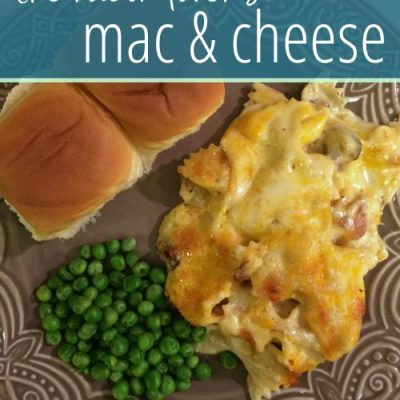 Mac & Cheese For Bacon Lovers