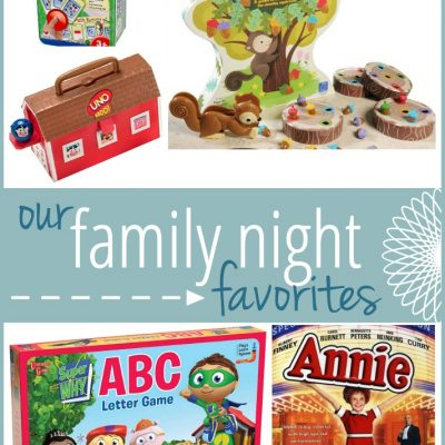 Our Family Night Favorites | The Mommy List, Week 5