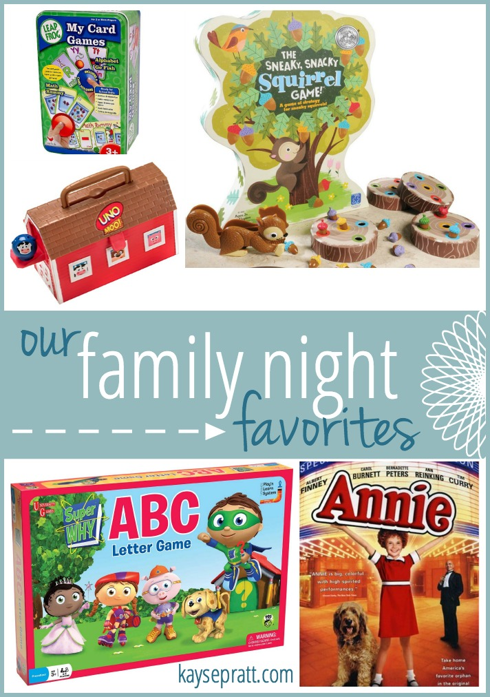 Our Family Night Favorites - KaysePratt.com