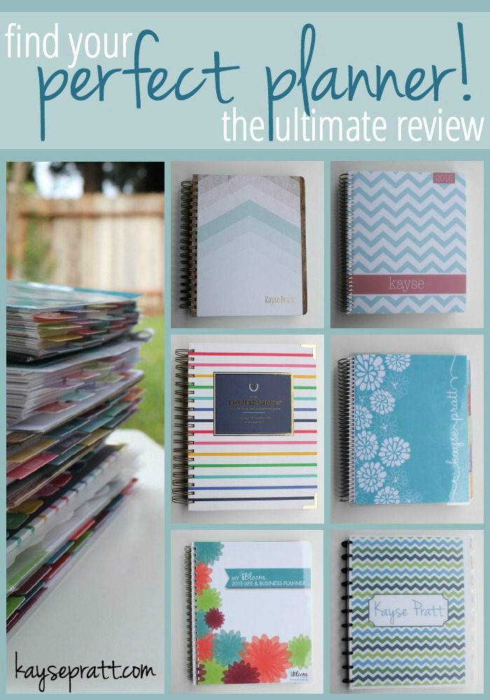 Find Your Perfect Planner - KaysePratt.com