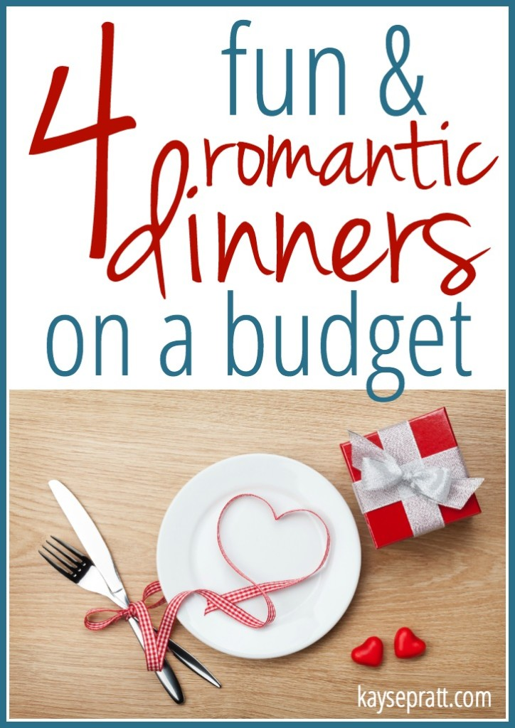 4 Fun & Romantic Dinners On A Budget - KaysePratt.com