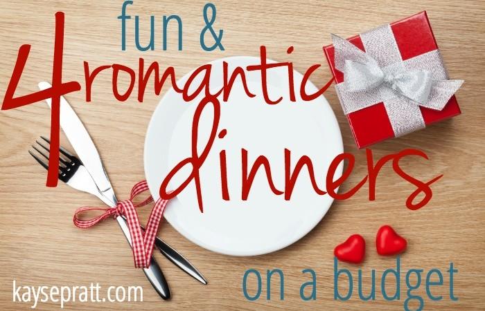 4 Fun & Romantic Dinners On A Budget