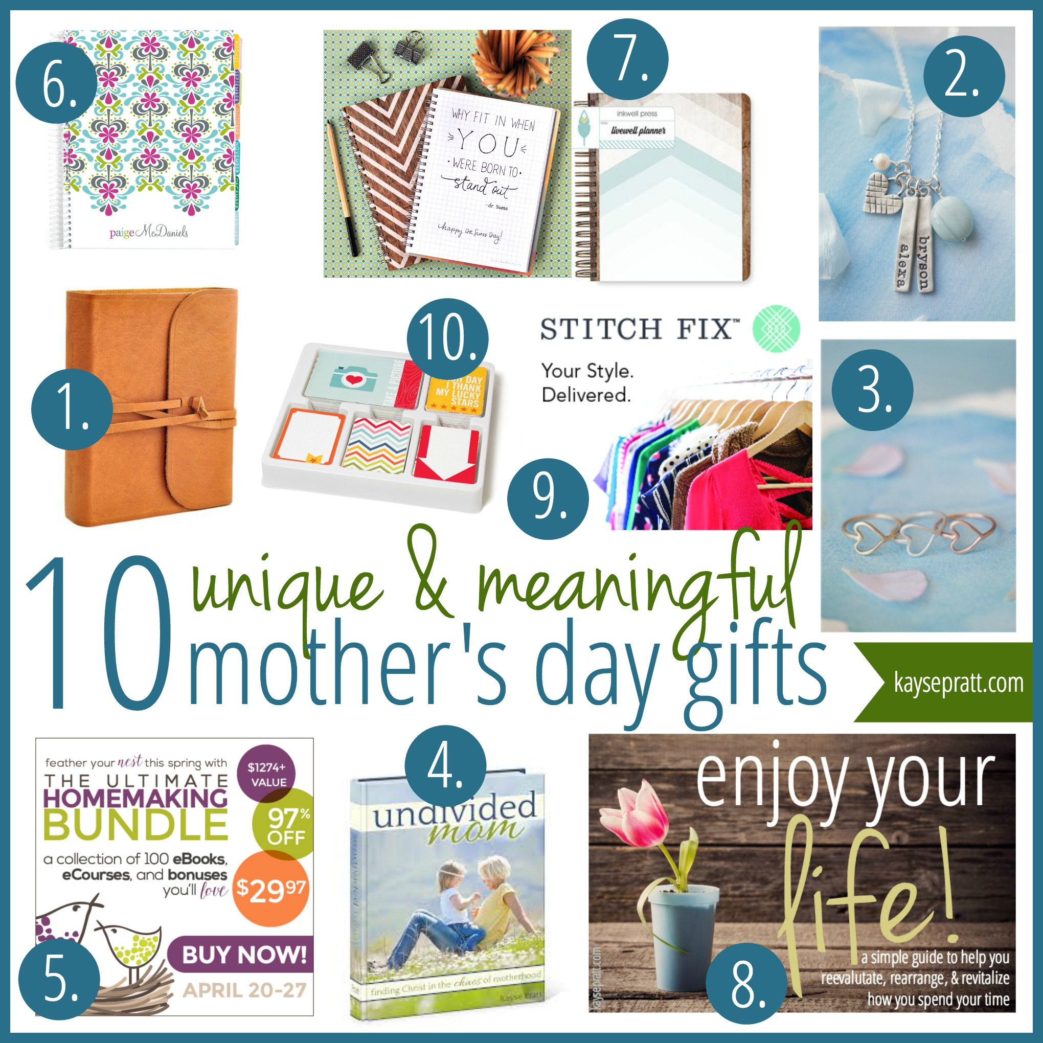 10 Unique Meaningful Mother S Day Gift Ideas Anchored Women
