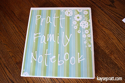 Family Notebook