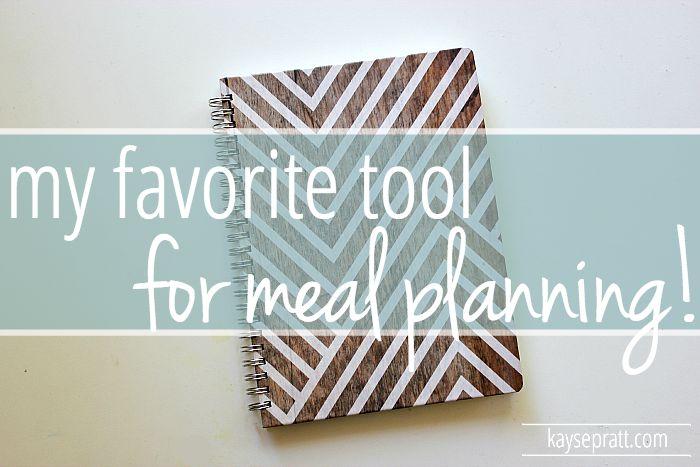 My Favorite Meal Planing Tool - KaysePratt.com