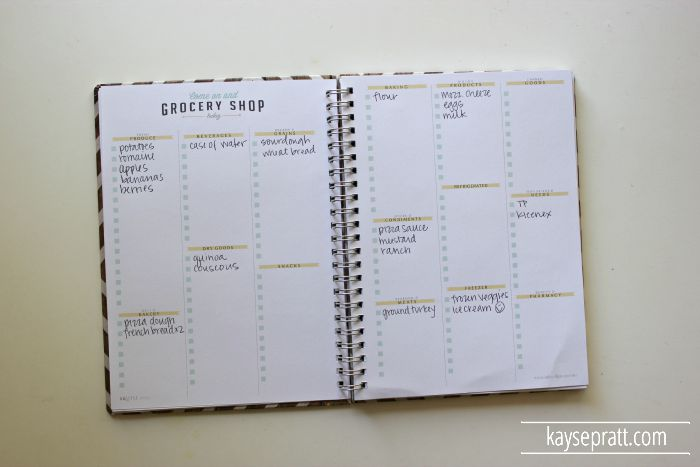 My Favorite Meal Planning Tool - KaysePratt.com