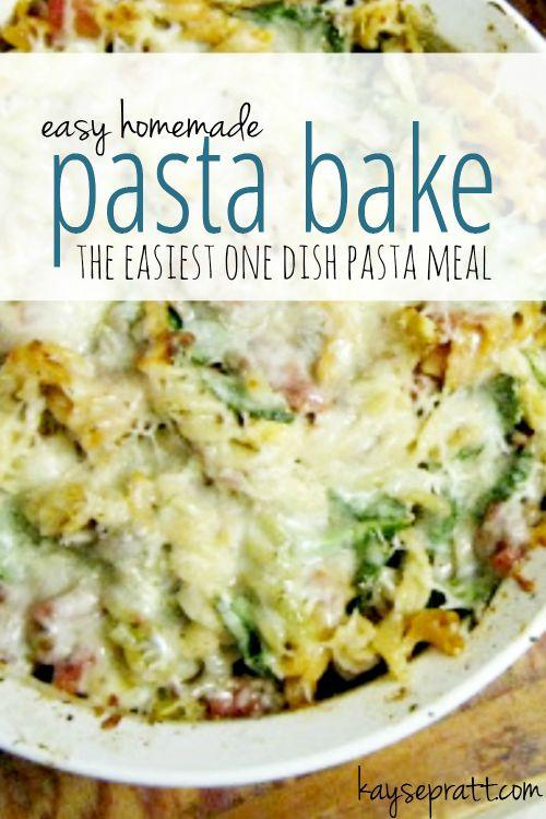 Easy Homemade Pasta Bake - KaysePratt.com