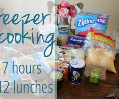Freezer Cooking: 7 Hours, 112 Meals!!