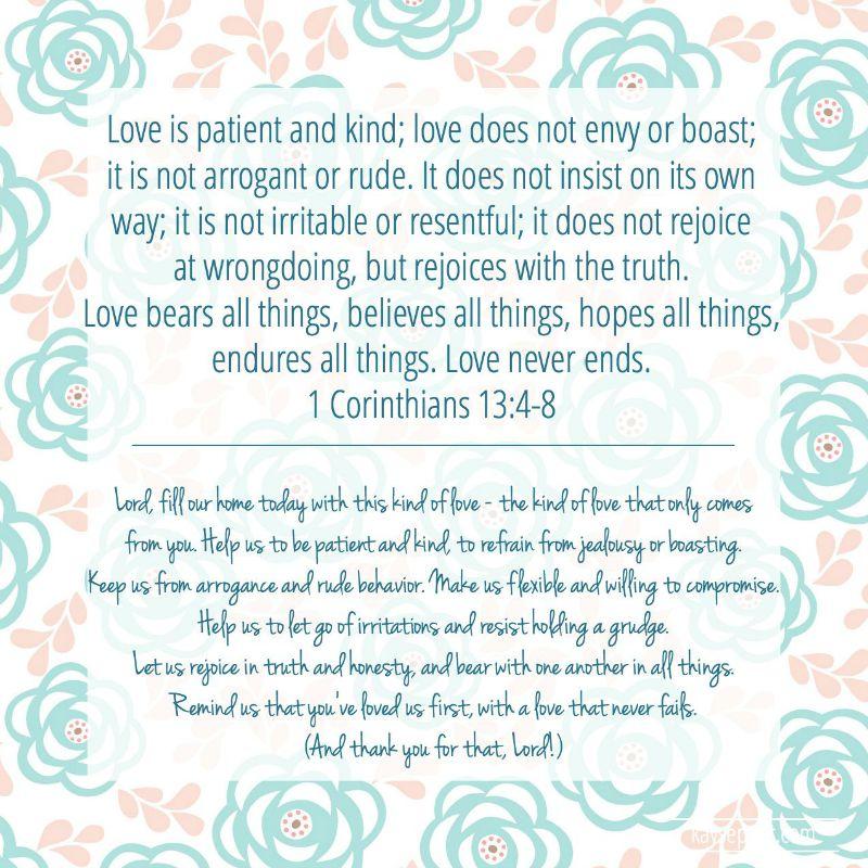 1 Corinthians 13.4