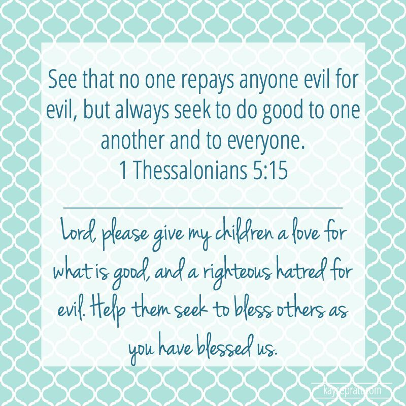 1 Thessalonians 5.15
