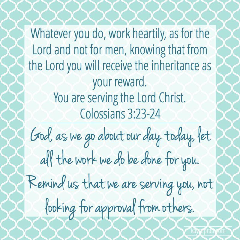 Colossians 3.23