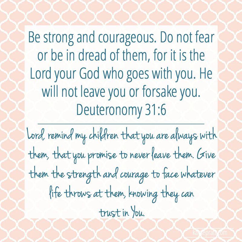 Deuteronomy 31.6