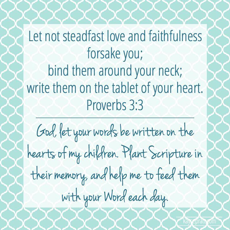 Proverbs 3.3