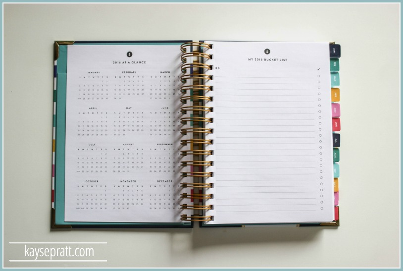 The Ultimate Planner Review 2016 - KaysePratt