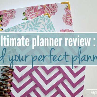 The Ultimate Planner Review :: 2016 Edition