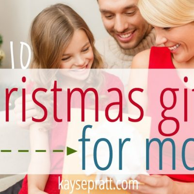 Top 10 Christmas Gifts For Moms