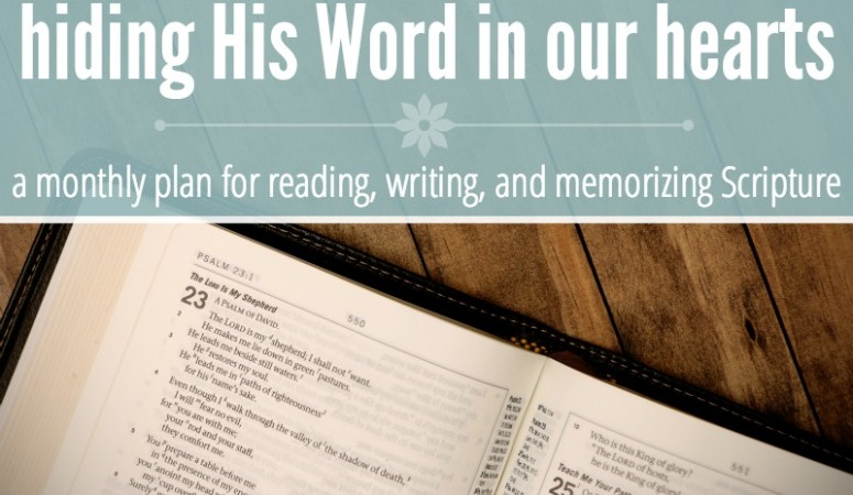 February Bible Reading & Writing Plan!