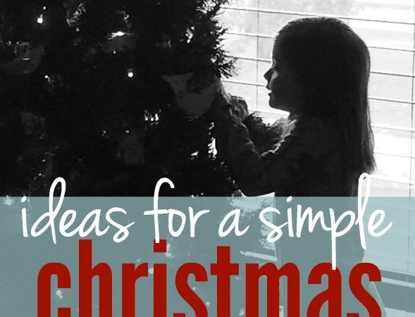 A Simple Christmas :: Less Stuff, More Heart
