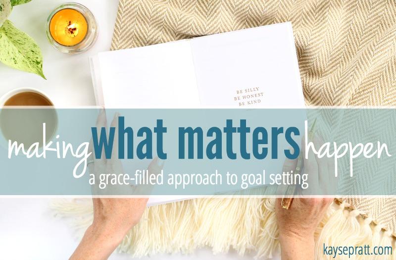 Making What Matters Happen - KaysePratt.com