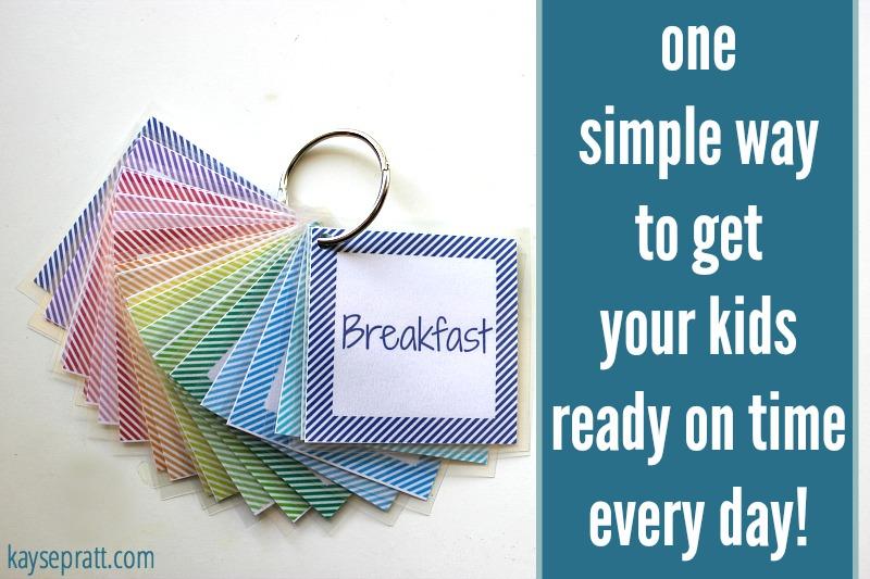 Daily Routine Printable For Kids - KaysePratt.com