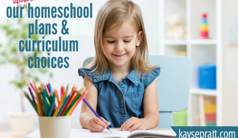 Our Homeschool Plans & Curriculum Update