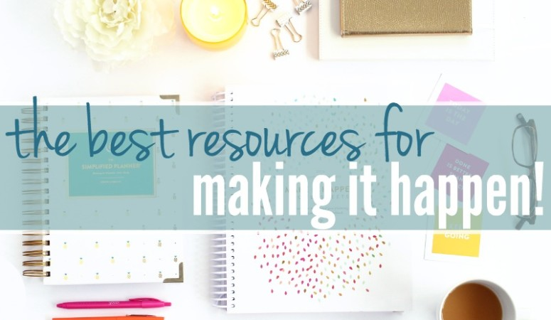 How To Make What Matters Happen – Favorite Resources