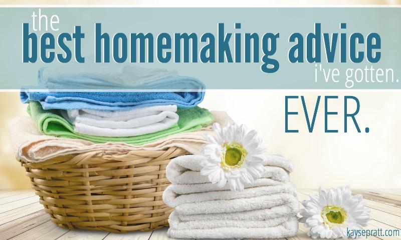 Best Homemaking Advice - KaysePratt.com Pinterest