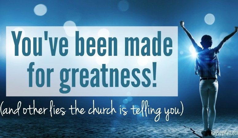 The idolatry of greatness & how it's ruining your life.