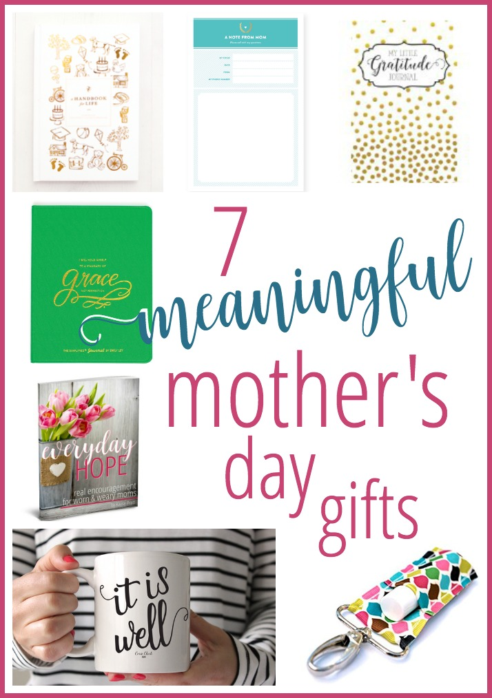 7 meaningful mother's day gifts - kaysepratt.com