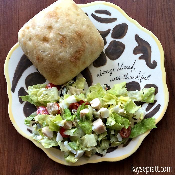 Chicken Cobb Salad 1 - KaysePratt.com