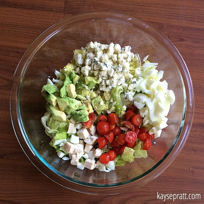 Chicken Cobb Salad 2 - KaysePratt.com