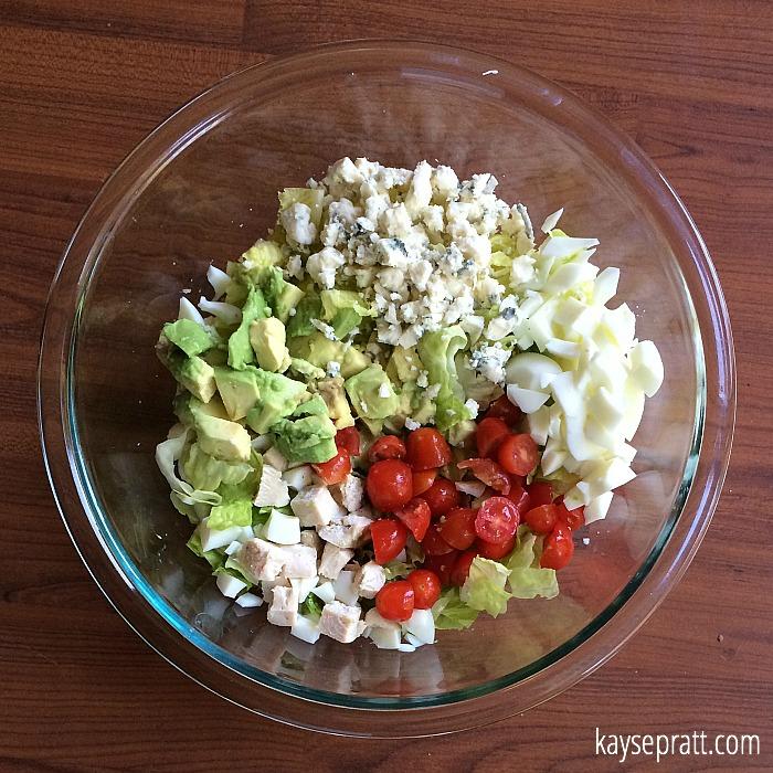 Chicken Cobb Salad 2 - KaysePratt.com