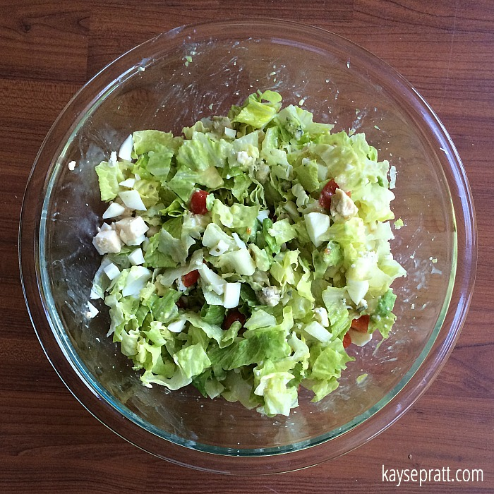 Chicken Cobb Salad 3 - KaysePratt.com