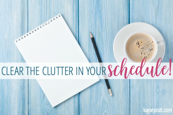 How to clear the clutter for good! - KaysePratt.com