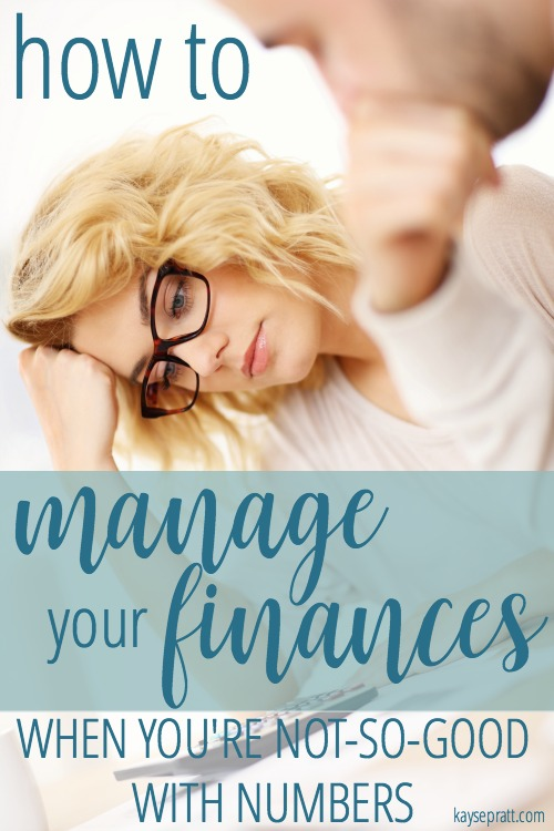 How to manage your finances when you're not-so-good with numbers - KaysePratt.com