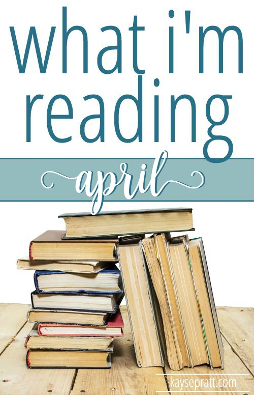 What I'm Reading April Pinterest