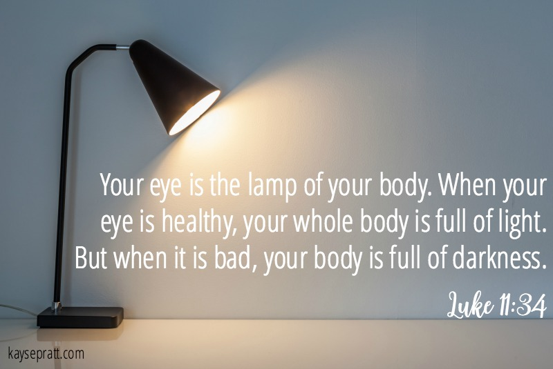 Your Eye Is The Lamp - KaysePratt.com